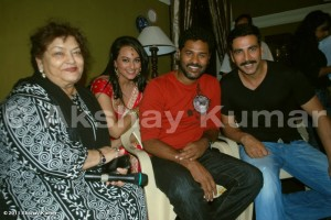 Rowdy rathore - On The set pics
