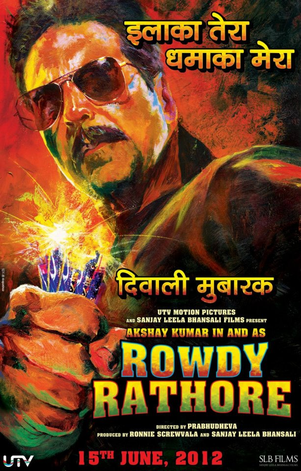 Rowdy' Akshay Kumar is a Tough Nut