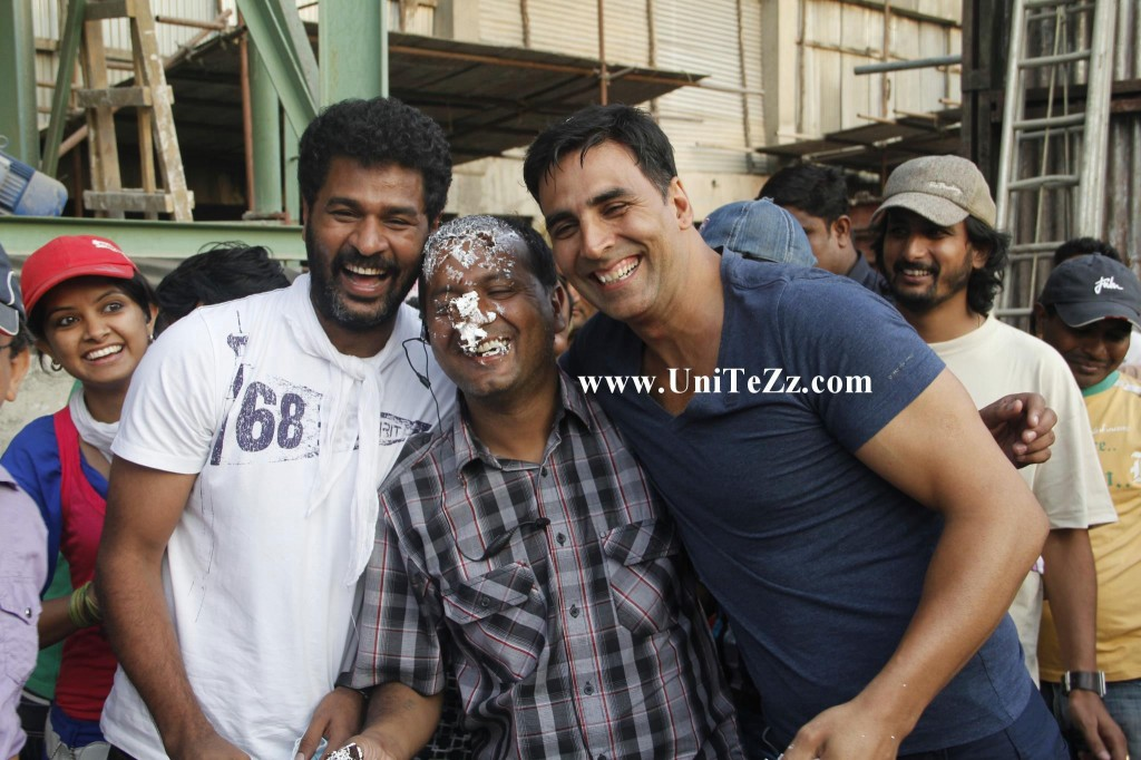 Rowdy Rathore - On the sets Pics part -2