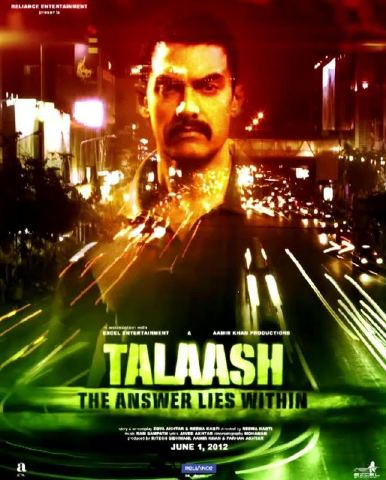 "Sanket's Review: ""Talaash"" is not entirely engaging, though its fairly good!"