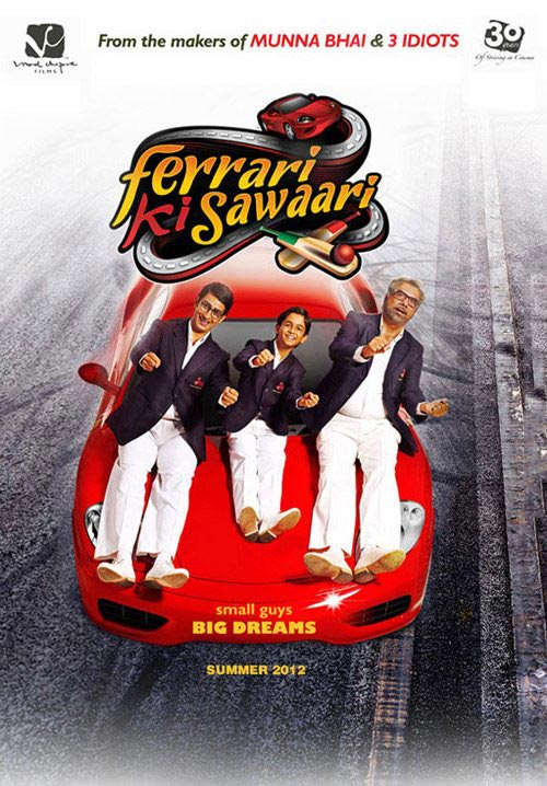 "Sanket's Review: ""Ferrari Ki Sawaari"" definitely deserves a chance."