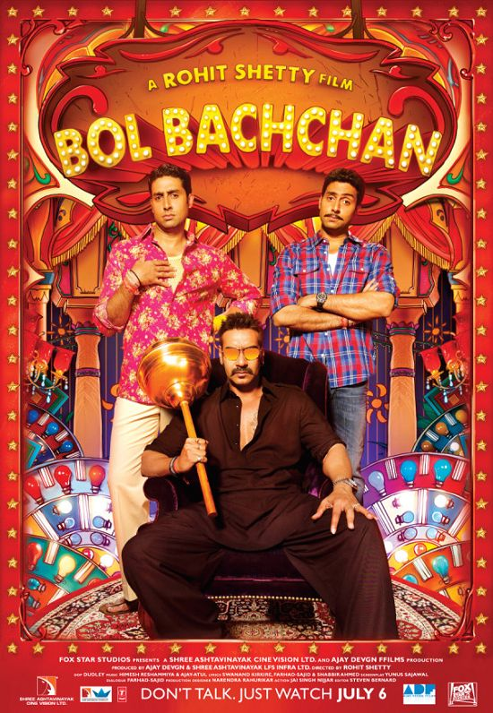 Bol Bachchan First Look Poster