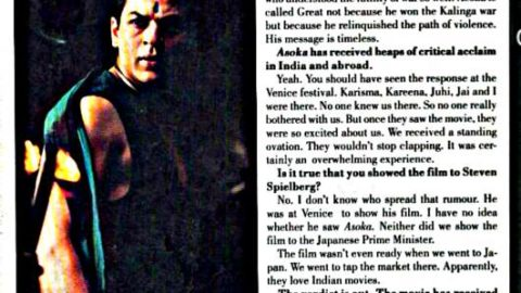 Special Feature: SRK's Interview Post Asoka!
