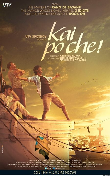 Kai Po Che! Movie Review By Taran Adarsh