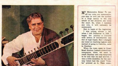 Blast from the Past: Prithviraj Kapoor Interview