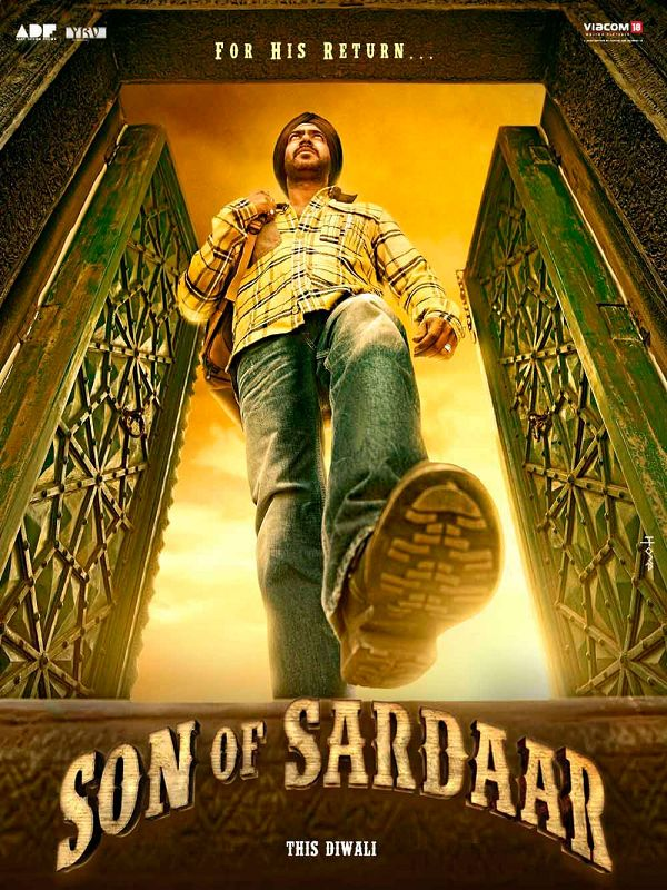 "Sanket's review: ""Son of Sardaar"" suffers from second half syndrome."