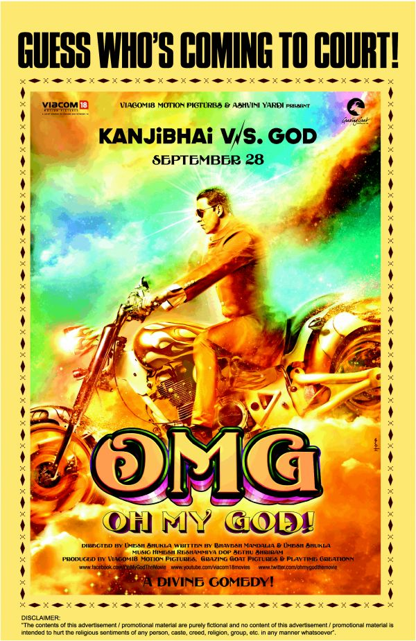 OMG Oh My God Movie Review By Taran Adarsh