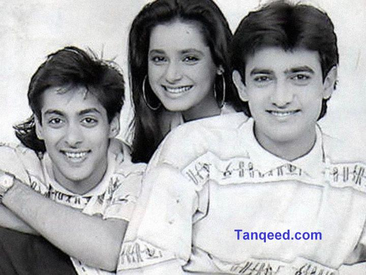 Rare Picture: Aamir Khan, Salman Khan and Neelam