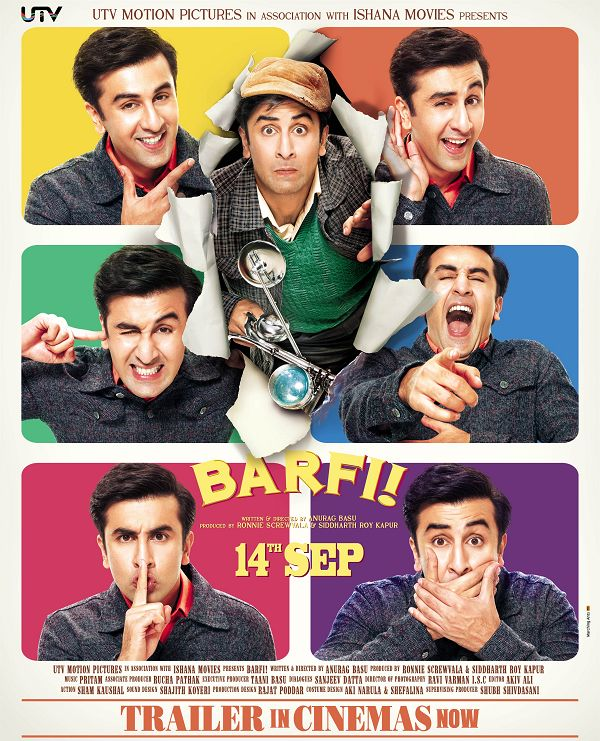 Barfi First Look Poster