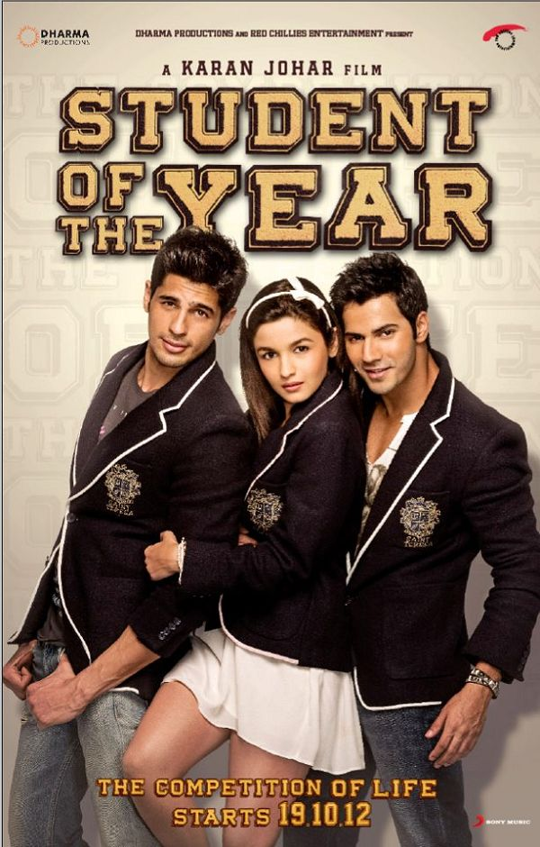 Student of the Year Posters Updated