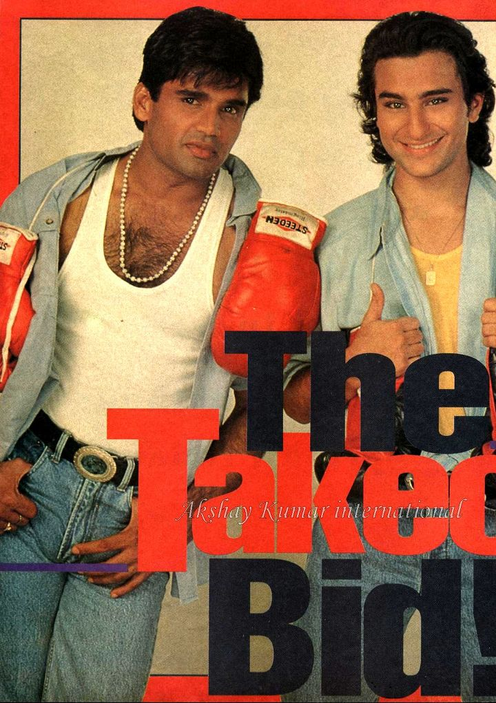 Blast from the Past: Akshay, Saif and Sunil Shetty's Interview from 1994