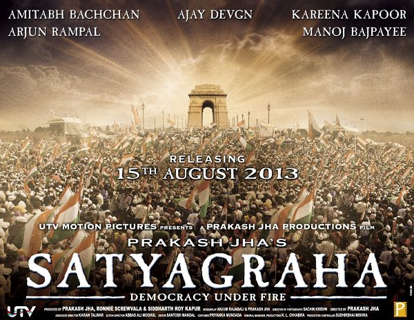 Satyagraha First Look Poster