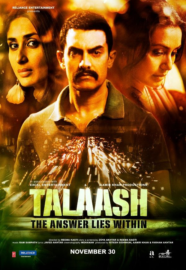 Talaash Movie Review by Taran Adarsh