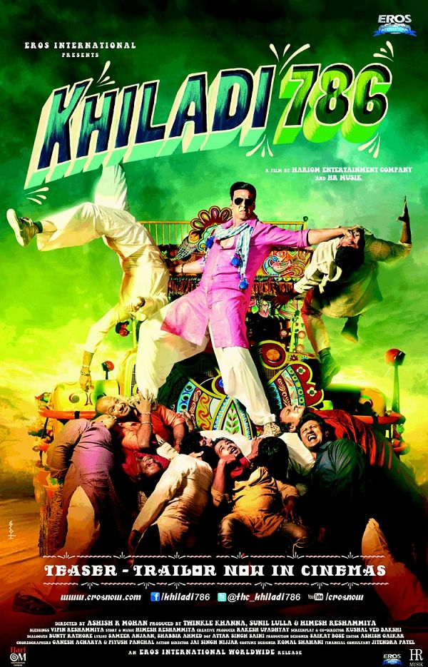 Khiladi 786 First Look Poster