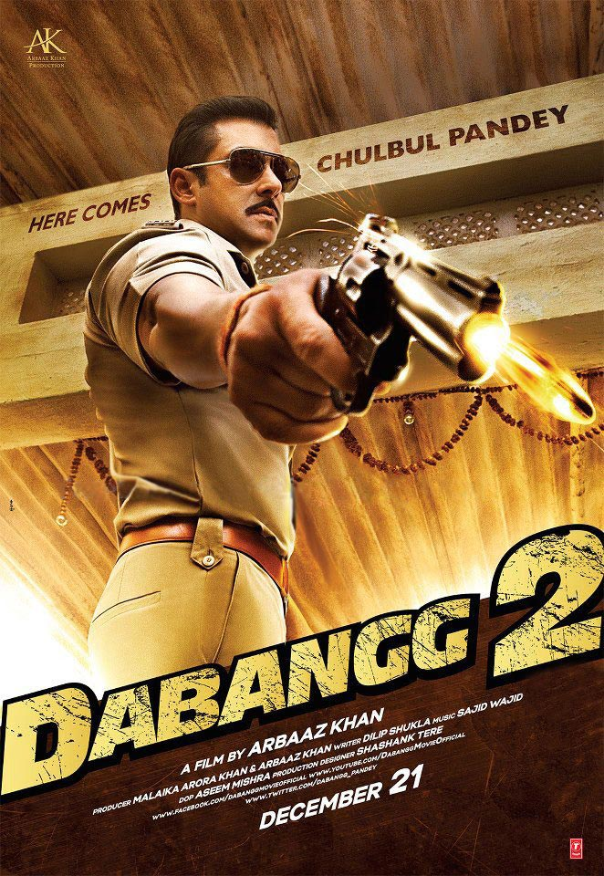 "Sanket's Review: ""Dabangg 2"" reaffirms the thought that Salman can rise above the script in these roles."
