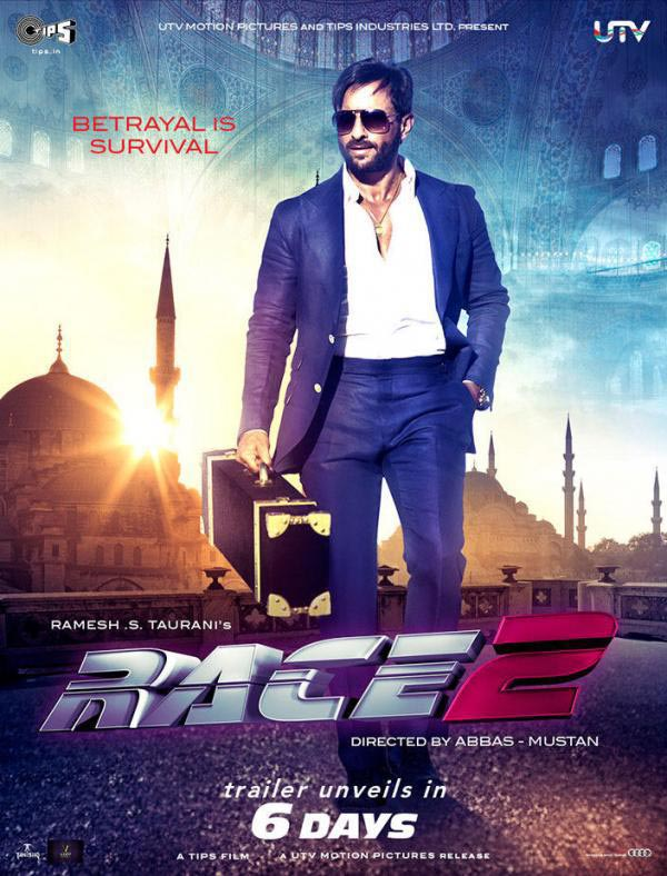 "Sanket's Review: ""RACE 2"" is thoroughly enjoyable despite its filmy clichés."