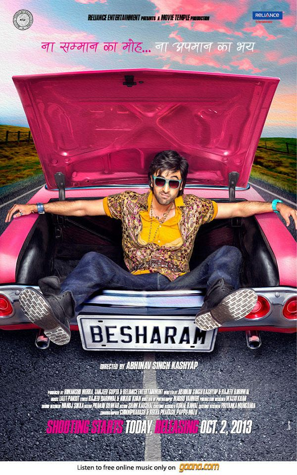 Besharam First Look Poster