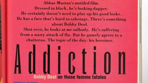 Blast from the Past: Bobby Deol Filmfare Interview from 2001