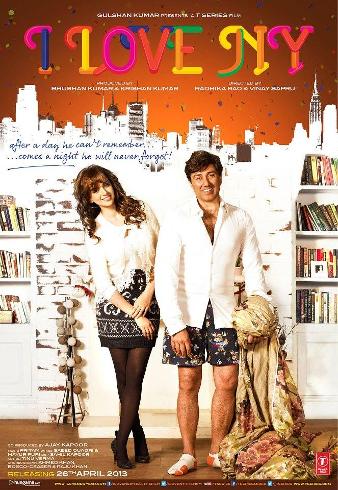 I Love NY First Look Poster