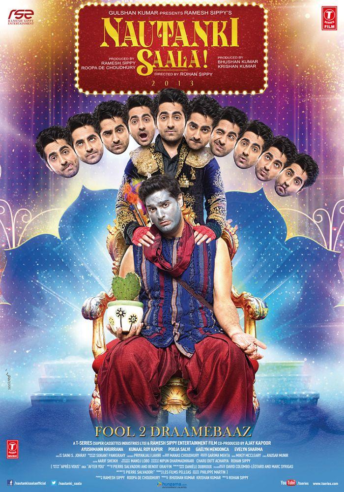 Nautanki Saala First Look Poster