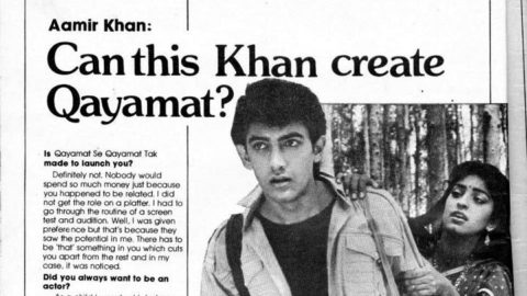 Blast from the Past: Aamir Khan's Movie Magazine Interview from 1988