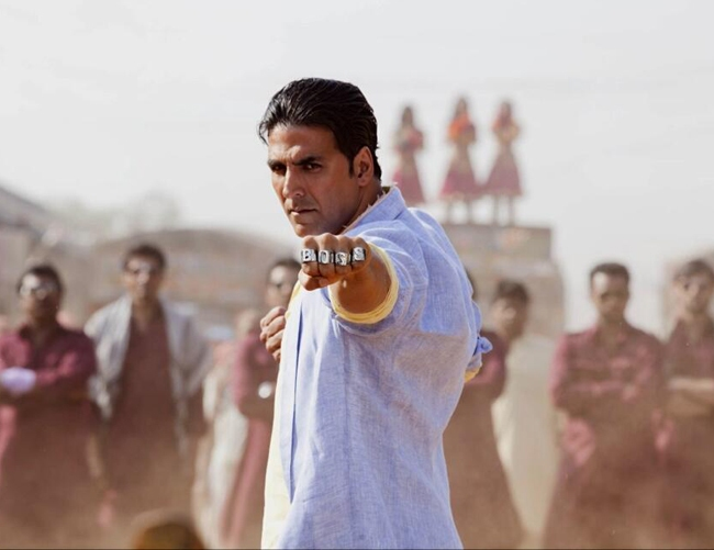 First Look Still of Akshay Kumar from Boss