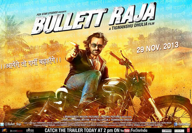 Bullett Raja First Look Posters