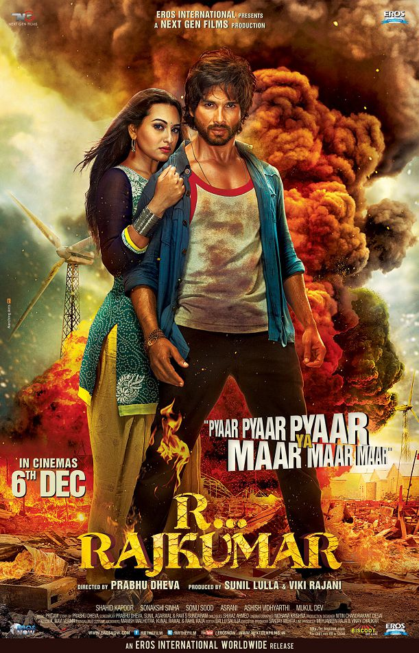 R... Rajkumar First Look Posters