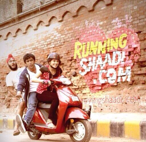 Running Shaadi.com First Look Poster