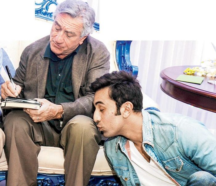 Ranbir Kapoor's creepy behavior with Robert De Niro