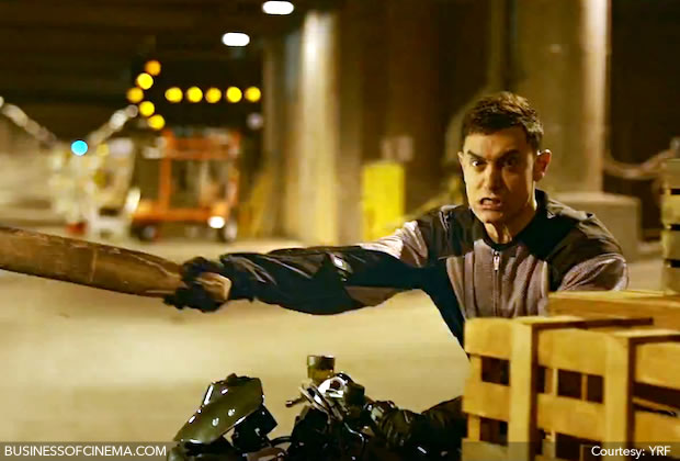 Aamir: The intense clown thief in Dhoom 3