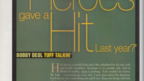 Blast from the Past: Bobby Deol's Filmfare Interview from 2002