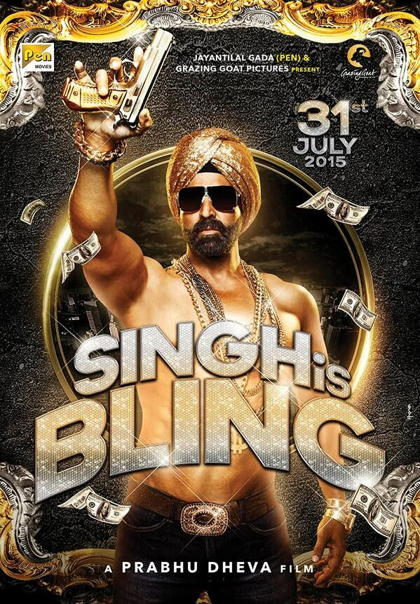 Singh Is Bling First Look Poster