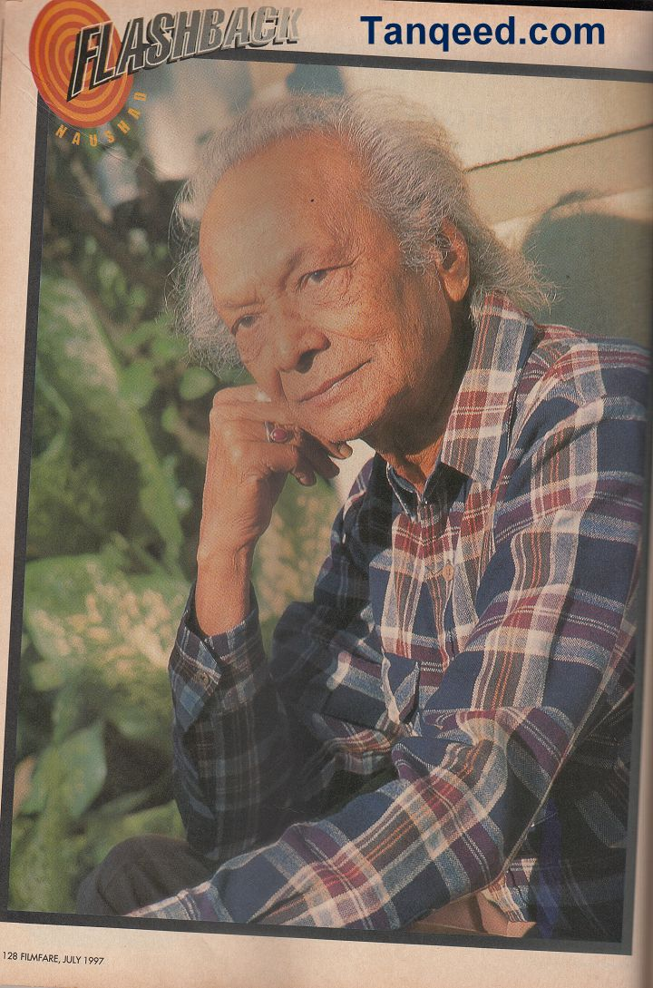 Blast from the Past: Naushad's Filmfare Interview from 1997