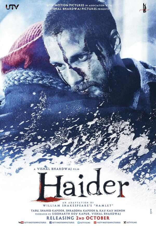 Haider First Look Posters