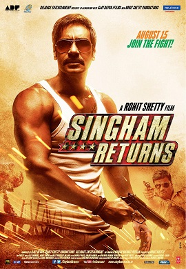 Sanket's Review on Singham Returns