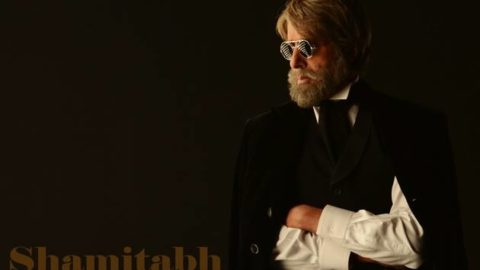First Look of Amitabh Bachchan and Dhanush from Shamitabh