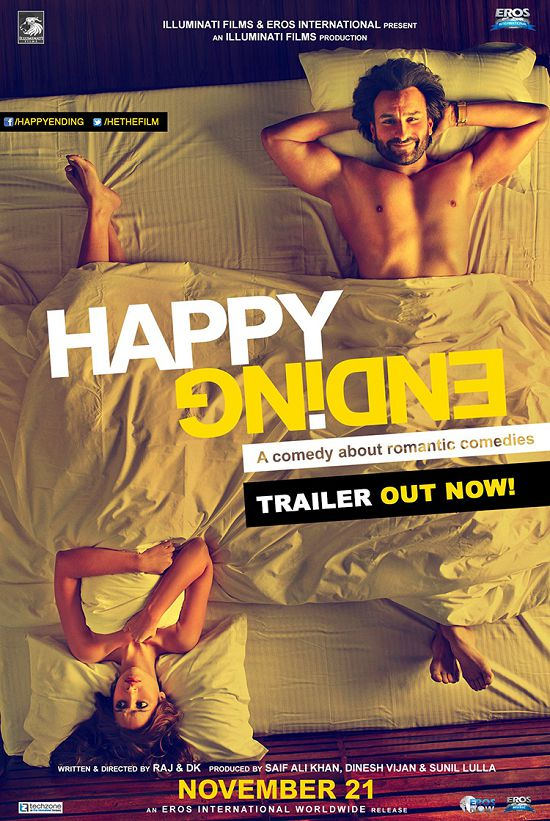 Happy Ending First Look Posters