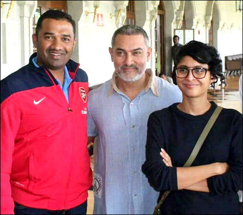 Aamir Khan's New Look from Dangal