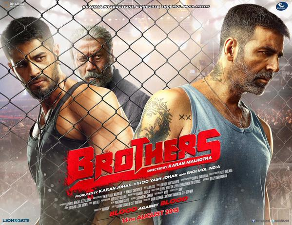 Brothers First Look Poster