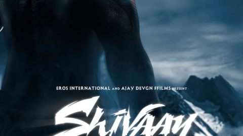 Shivaay First Look Poster starring Ajay Devgn