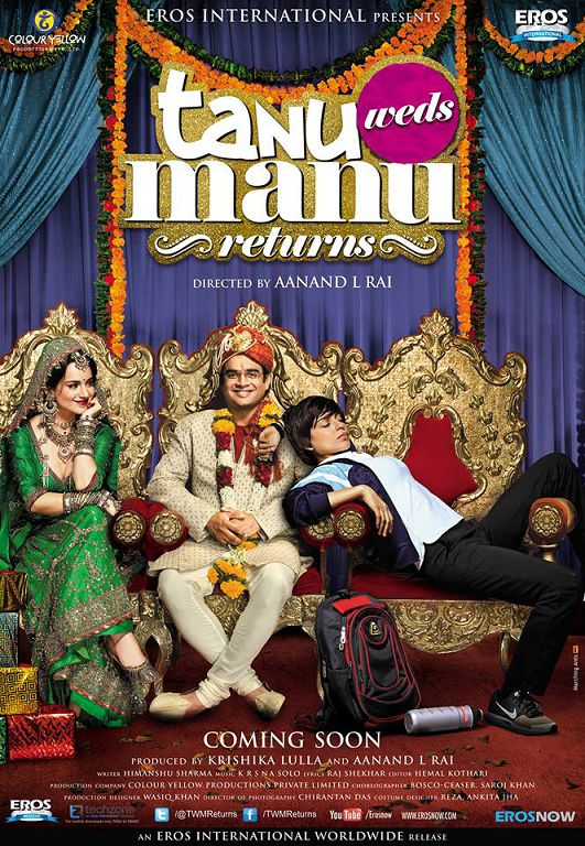 Box Office Predictions of Tanu Weds Manu Returns