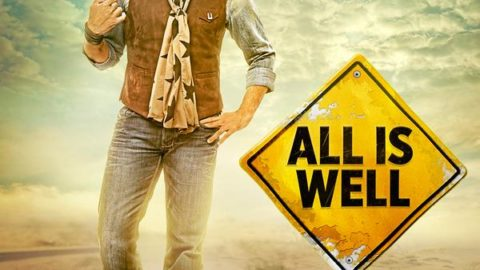 All Is Well First Look Poster starring Abhishek Bachchan