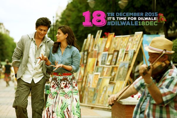 First Look of Shah Rukh Khan and Kajol from Dilwale