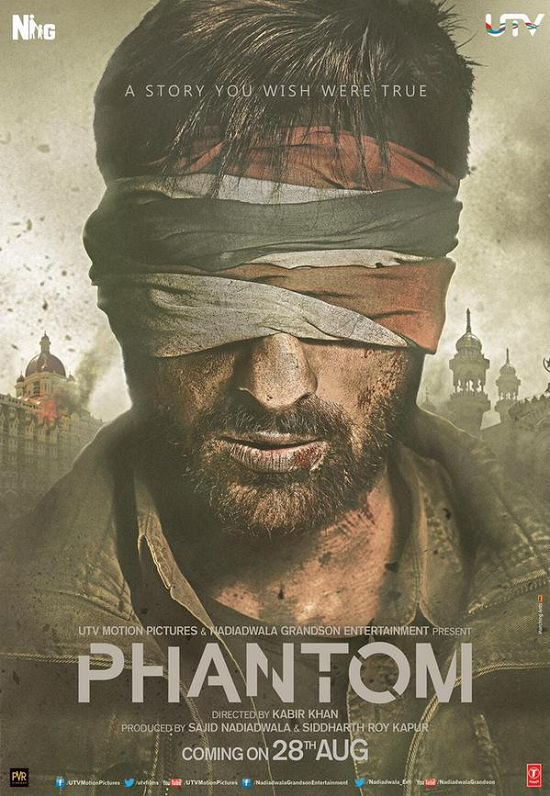 Phantom First Look Posters starring Saif Ali Khan, Katrina Kaif