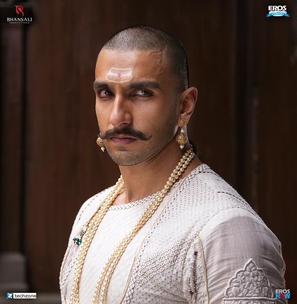 First Look of Ranveer Singh, Deepika Padukone and Priyanka Chopra from Bajirao Mastani