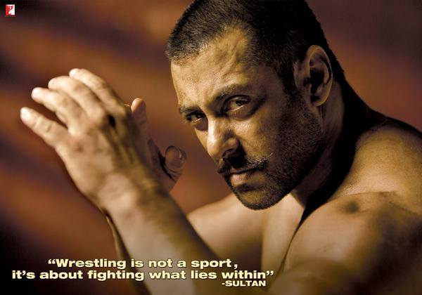 Sultan First Look Poster starring Salman Khan
