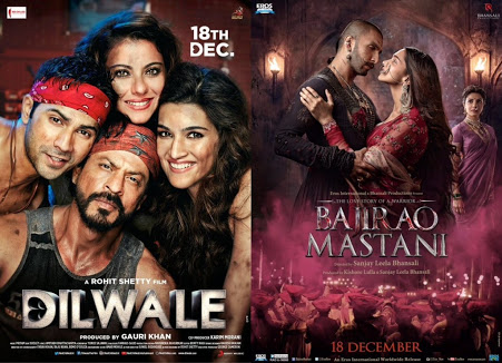Dilwale and Bajirao Mastani Boxoffice Collections Thread