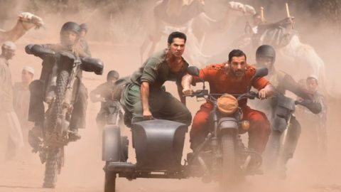 First Look of John Abraham and Varun Dhawan from Dishoom