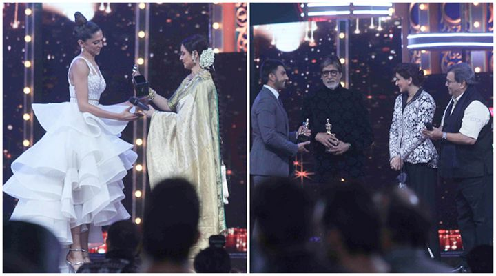Amitabh, Ranveer, Deepika, Bajrangi Bhaijaan win at Star Screen Awards 2016